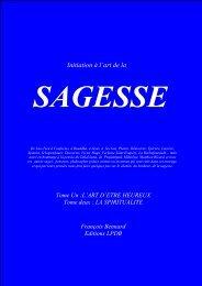 Initiation à l'art de la SAGESSE - L'Espace