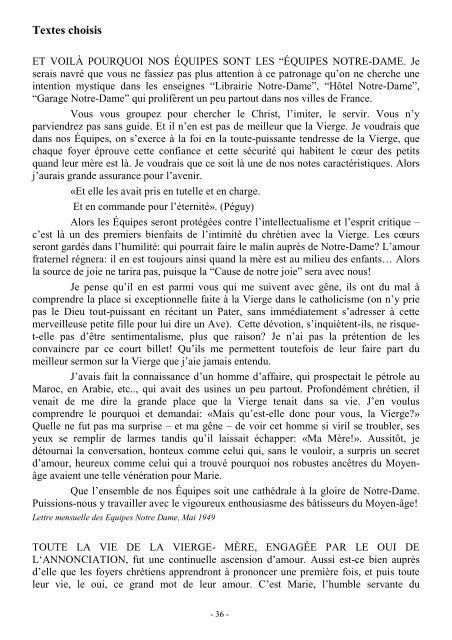 Textes Choisis Et Voilà