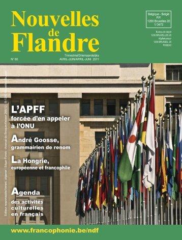 L'APFF - Francophonie