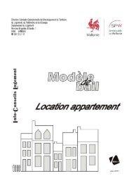 Modèle bail appartement pour pdf