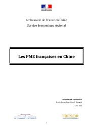 Les PME françaises en Chine - Consulat général de France à ...