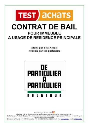 Quelques liens utiles for Bail pour location maison