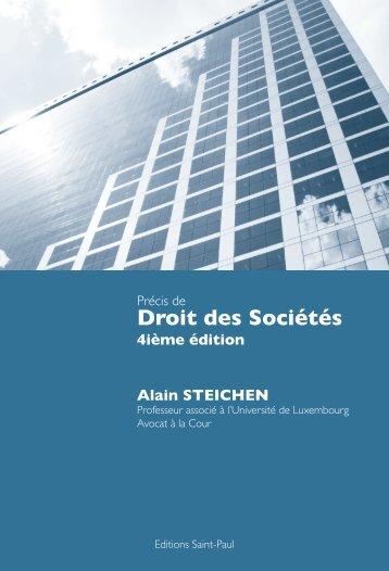 Droit des Sociétés - Bonn Steichen & Partners