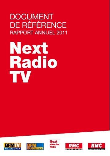 Télécharger le communiqué de presse - NextRadioTV
