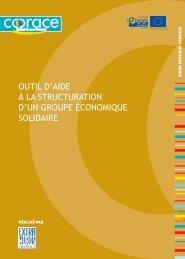 Outil d'aide à la structuration d'un groupe économique solidaire - DLA
