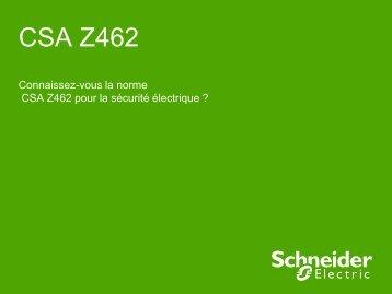 CSA Z462 - Apsam
