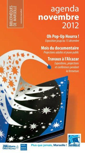 Oh Pop-Up Hourra - Bibliothèques municipales de Marseille - Ville ...