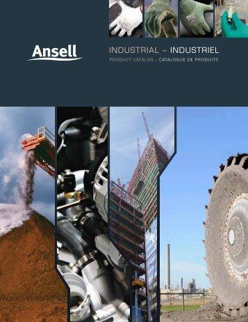 INDUSTRIAL – INDUSTRIEL - Ansell Canada