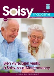 Soisy Magazine n°146 - Soisy sous Montmorency