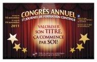 Congrès 2011 - Ordre des traducteurs, terminologues et interprètes ...