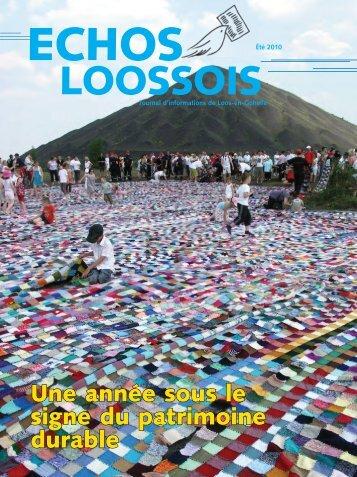 Une année sous le signe du patrimoine durable - Loos-en-Gohelle