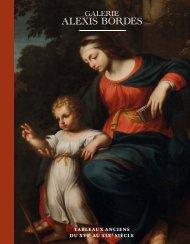 TABLEAUX ANCIENS Du 6 novembre au 7 décembre 2012