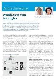 Eawag News 63f: NoMix sous tous les angles