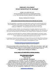 simiane-collongue ecole municipale de musique - Bienvenue sur le ...