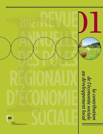 la contributionde l'économie sociale au développement local