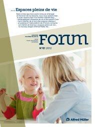 Forum 61 - 2012 - Espaces pleins de vie - Alfred Müller AG