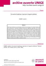 Conversion hystérique, hypnose et imagerie cérébrale
