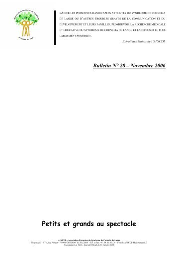 Bulletin N° 28 - Orphanet