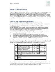 Bijlage C Innovatiecontract Chemie TKI PT - Investeren in topsectoren