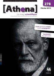 Athéna 278 - Portail de la Recherche et des Technologies en Wallonie