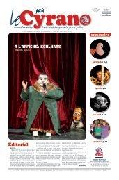 Le Petit Cyrano 135 - Chambre des Théâtres pour l'Enfance et la ...