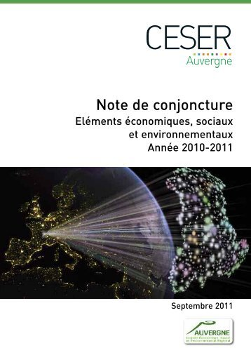 Note de conjoncture - Conseil économique et social régional d ...
