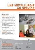 métallurgie des poudres - Aubert & Duval - Page 2