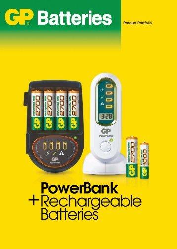PowerBank Rechargeable Batteries - Karimex
