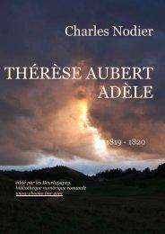 THÉRÈSE AUBERT - ADÈLE - Bibliothèque numérique romande