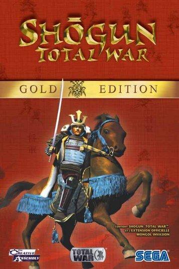 shogun: total war et l'extension officielle mongol invasion contient ...