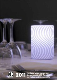 2011Cordless Table Lamps and Rechargeable LED ... - HoKaR