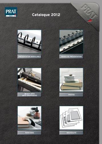 Books de présentation rechargeables - prat fabrications