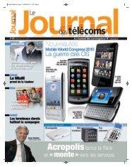 Projet2:Mise en page 1 03/03/2010 11:54 Page 1 - Le Journal Des ...