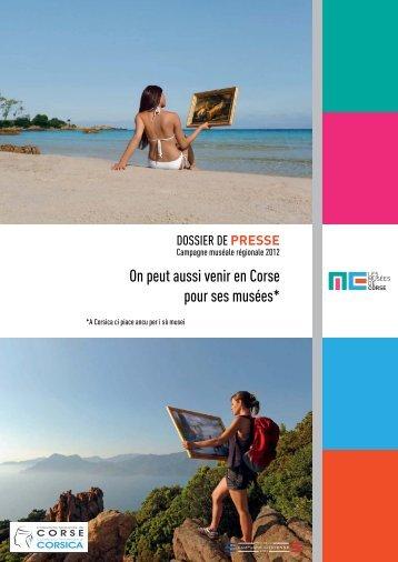 Dossier de presse - Musée de la Corse