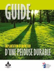 Guide – Implantation de la pelouse durable - Fédération ...