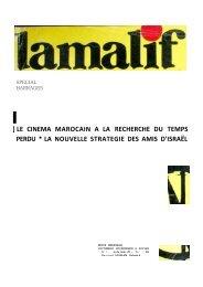 le cinema marocain a la recherche du temps perdu * la nouvelle ...