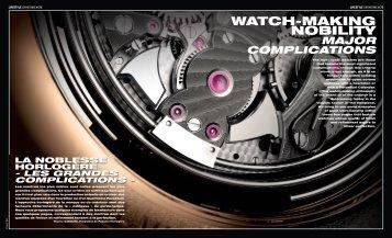 WATCH-MAKING NOBILITY - Speake-Marin