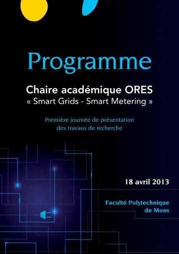 Program - Université de Mons