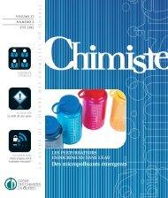 Revue Chimiste Été 2012 - Ordre des chimistes du Québec