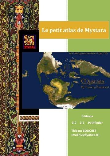 Atlas simplifié de Mystara