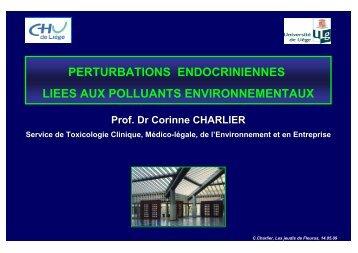 Perturbateurs endocriniens, Fleurus, mai 09 - Les Jeudis de Fleurus