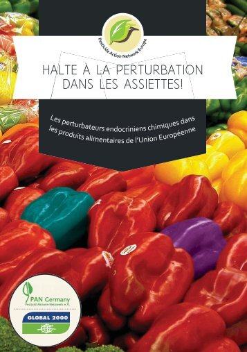 "Perturbateurs endocriniens - ""disrupting"" food"