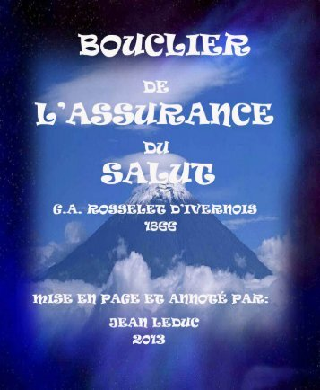 BOUCLIER DE L'ASSURANCE DU SALUT Par GA ... - le Vigilant