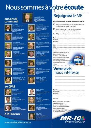 Politique - Chaudfontaine.be