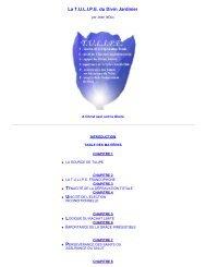 T.U.L.I.P.E. au format PDF - Documents bibliques