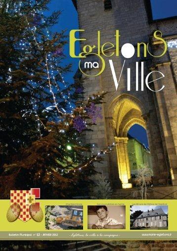 Bulletin municipal n° 12 - Ville d'Egletons