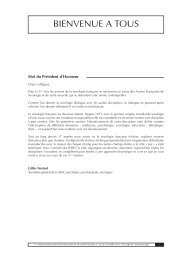 Livre résumé Assises 2012 - FF3S