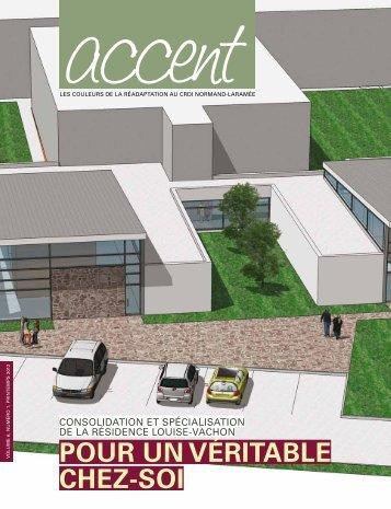 Revue Accent, Vol. 6 No 1, Hiver 2012 - CRDI Normand-Laramée