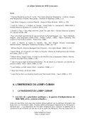Le Lobby Cubain - Cuba Solidarity Project - Page 5