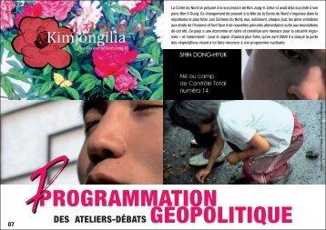 PROGRAMMATION GÉOPOLITIQUE - Kimjongilia
